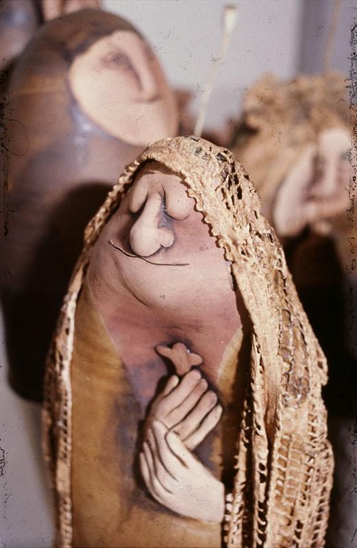 Agyagfigurák a nyolcvanas évekből