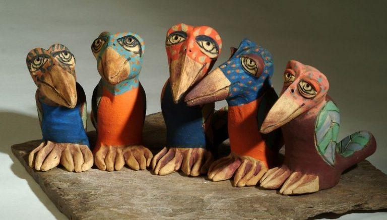 kis színes madarak