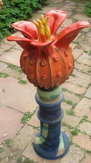 kaktusz oszlopon