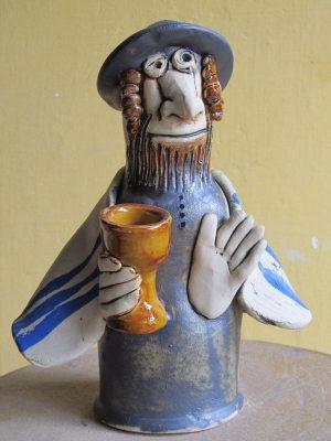 Zsidó figura kehellyel
