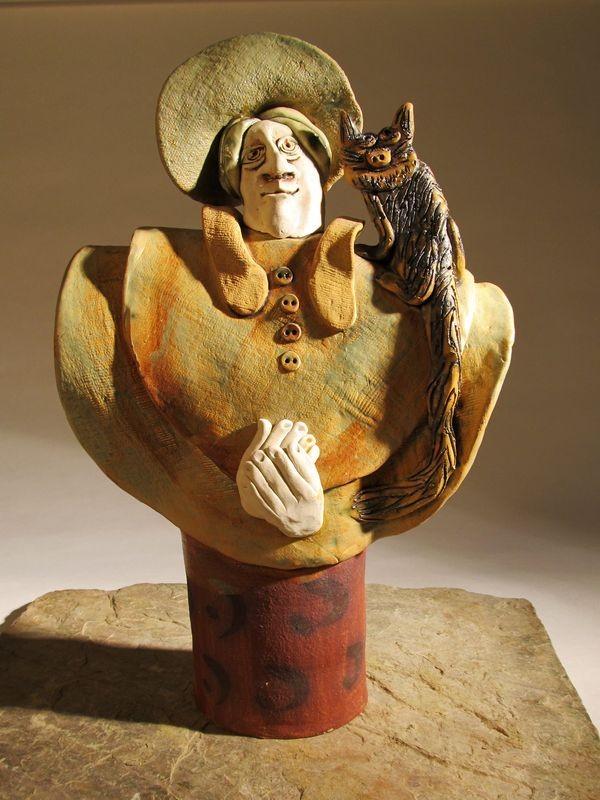 macskás hölgy