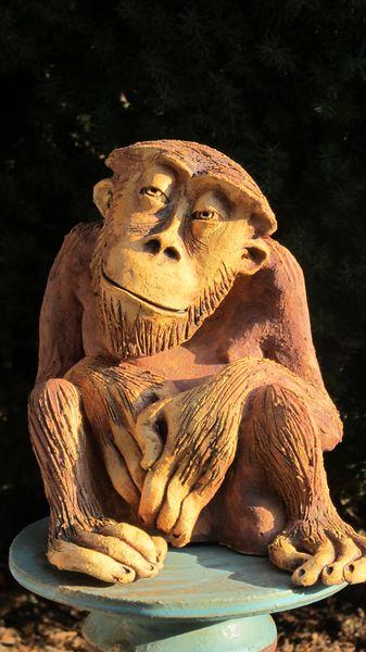 majom 3 - Egyedi kerámia