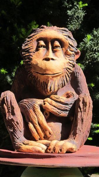 majom 6 - Egyedi kerámia