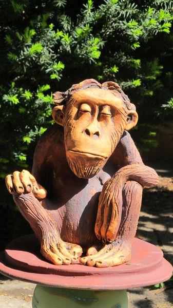 majom 9 - Egyedi kerámia