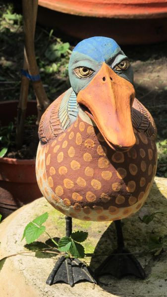 kacsa fiú - Egyedi kerámia