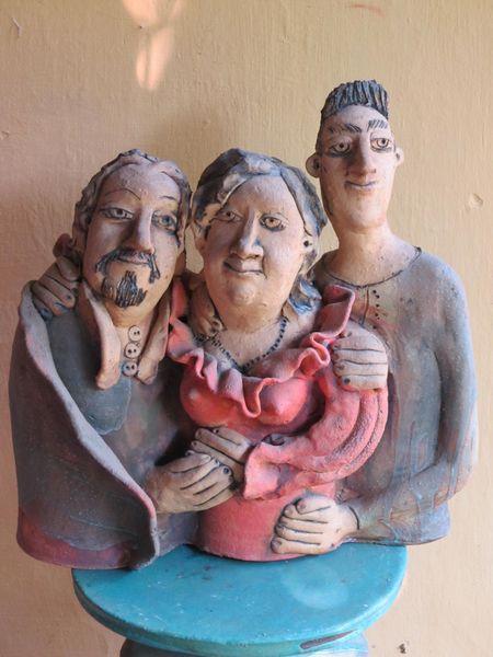 Kerámia családi portré