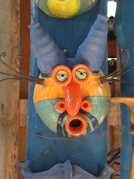 Kerámia vízköpő maszk